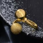 Anneaux-ethiopie-24K-balle-ronde-couleur-or-anneaux-Dubai-anneaux-pour-les-femmes-Twist-africain-rond