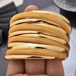4-pi-ces-lot-Dubai-or-couleur-bracelets-pour-femmes-Vintage-mari-e-mariage-manchette-Bracelet