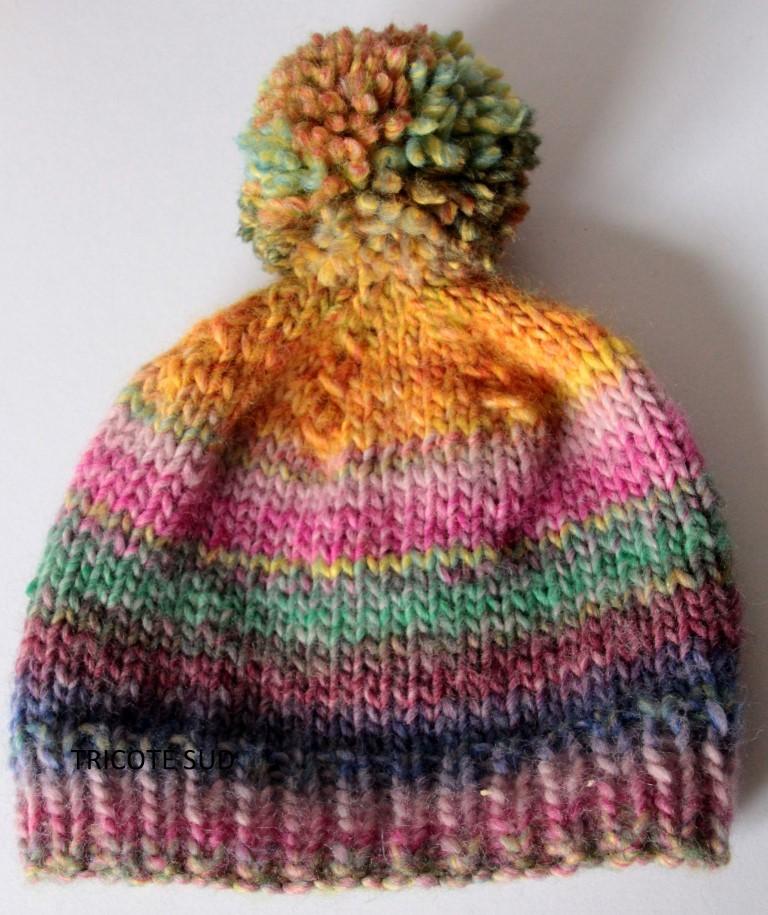 41bc35e5ea3c Kit tricot bonnet ourson - Kits tricot Kits tricot enfant - Tricoté Sud