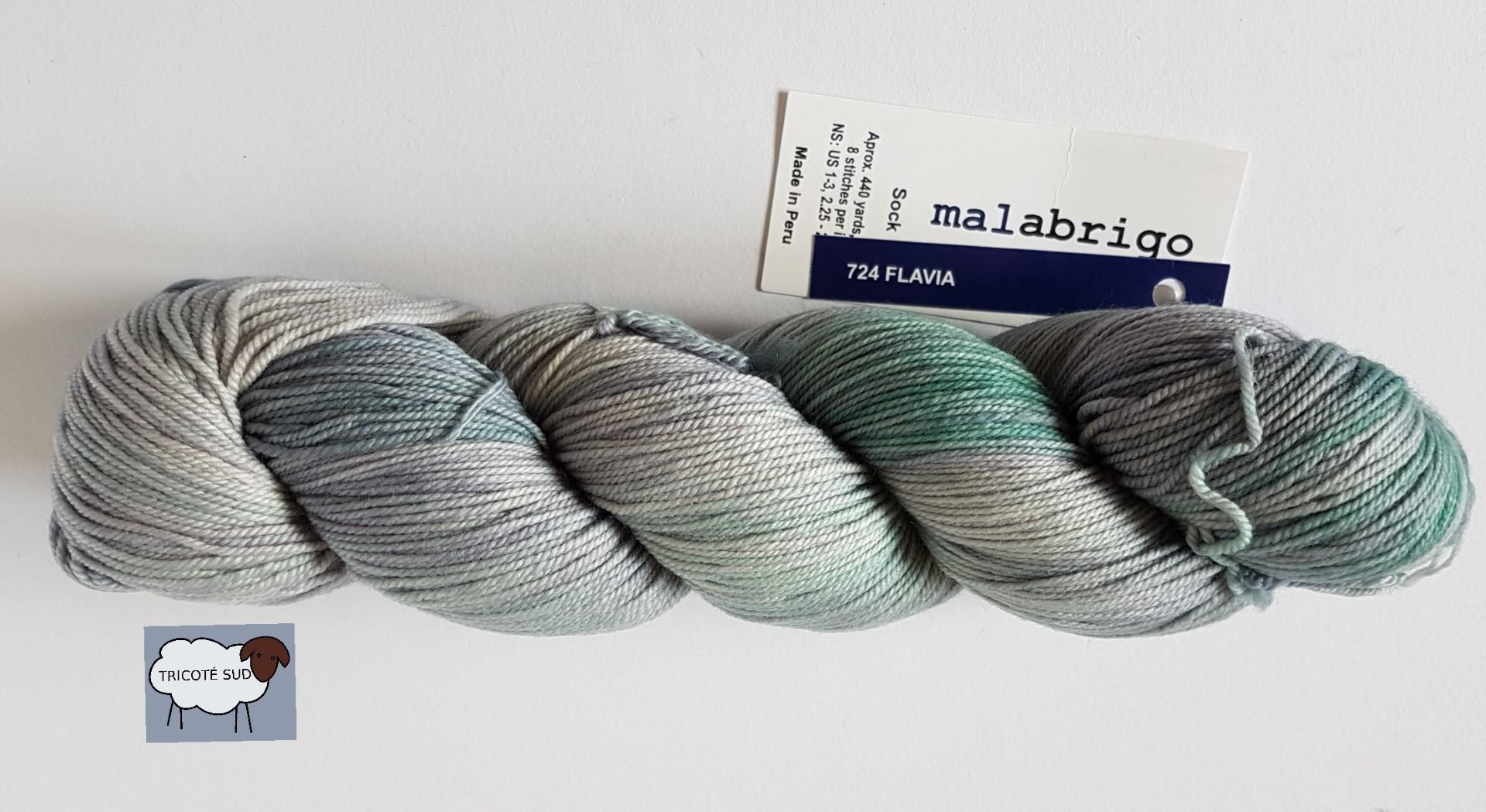 MALABRIGO SOCK FLAVIA (5) (Large)