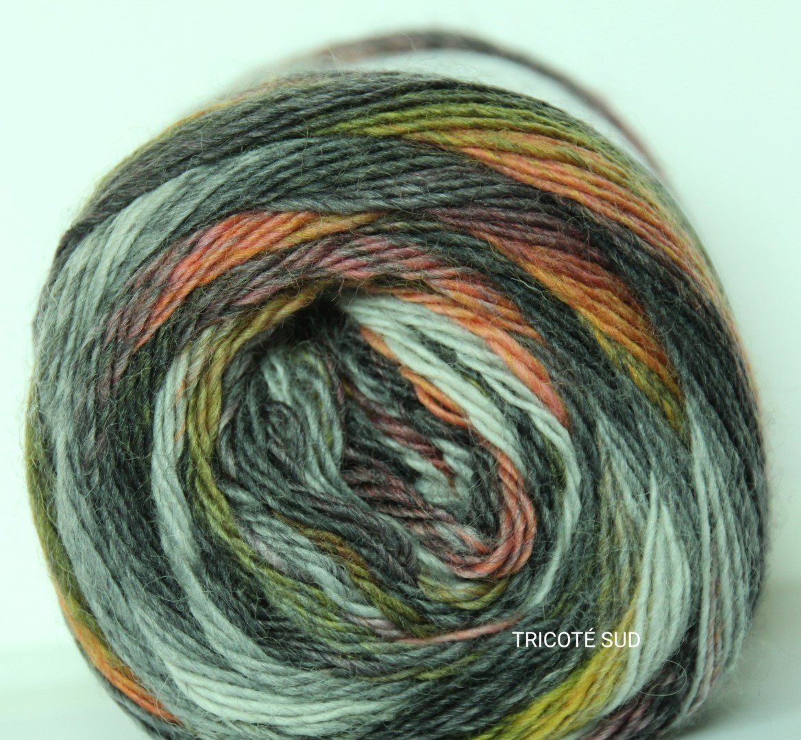 MILLE COLORI SOCKS AND LACE COLORIS 124 (2) (Large)