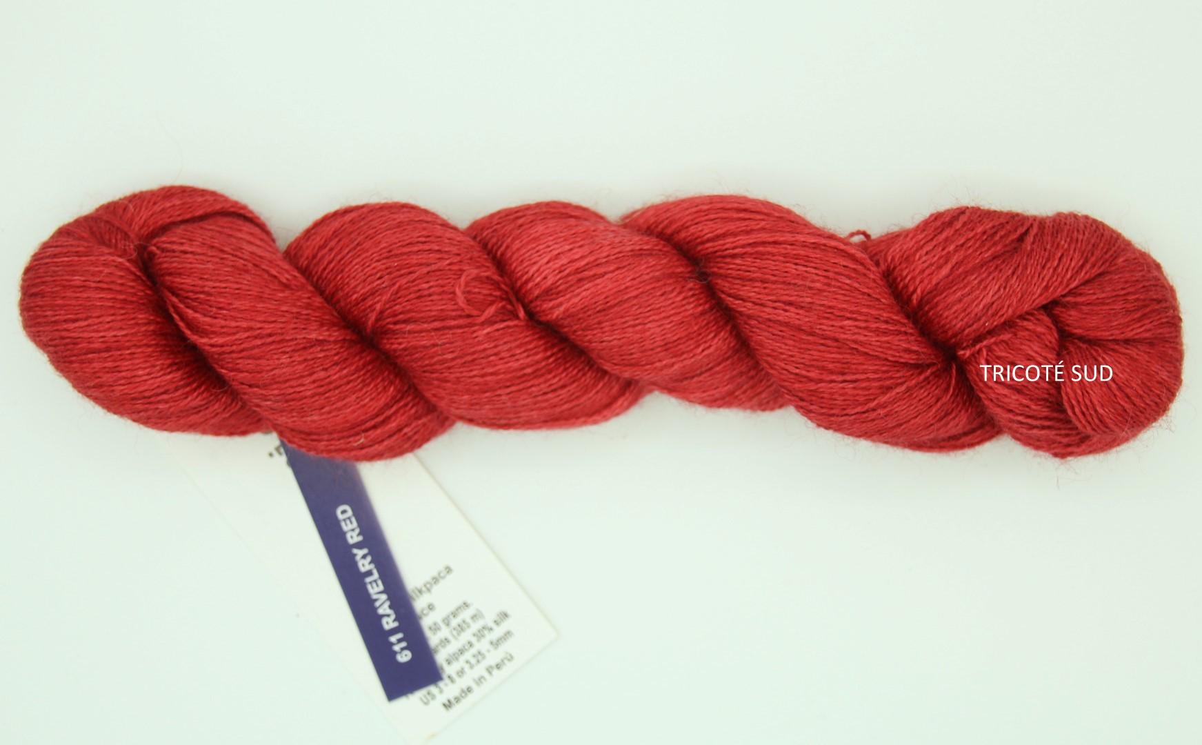 SILKPACA MALABRIGO COLORIS RAVELRY RED (Large)