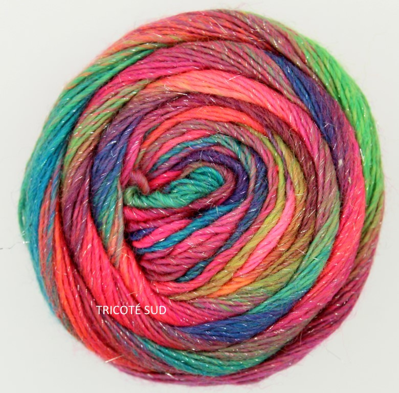 MILLE COLORI SOCKS AND LACE LUXE LANG YARNS COLORIS 50 (2) (Medium)