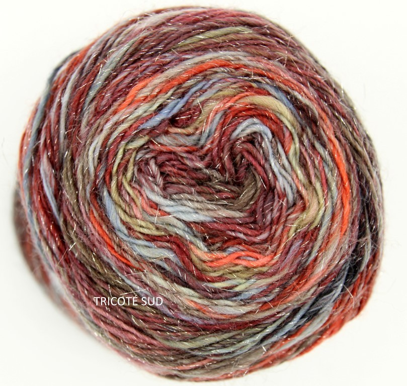 MILLE COLORI SOCKS AND LACE LUXE LANG YARNS COLORIS 63 (1) (Medium)