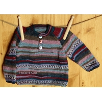 Fiche tricot pull Samuel version papier