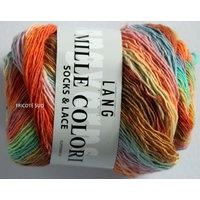 Mille Colori Socks and Lace coloris 54