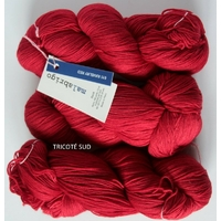 SOCK RAVELRY RED (1) (Medium)