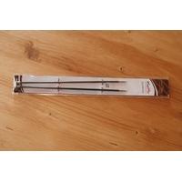 Aiguilles droites KarbonZ de KnitPro longueur 25cm