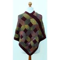 Kit tricot poncho Automne