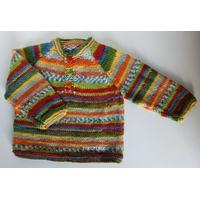 Kit tricot pull Samuel  tailles 6-12-18 mois