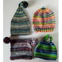 Kit tricot bonnet enfant