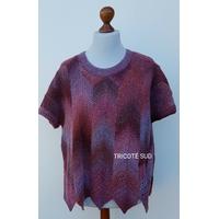Kit tricot tunique Plume version Tosca Light