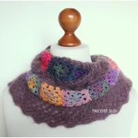 Kit crochet snood Eulalie
