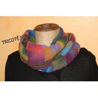 Fiche tricot snood Delphine version papier