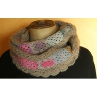 Kit snood Eulalie beige