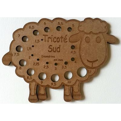 Jauge à aiguilles mouton