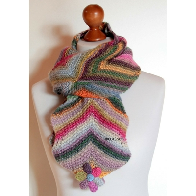 Kit tricot écharpe Lina