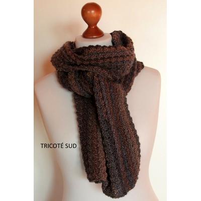 Kit crochet écharpe Brume