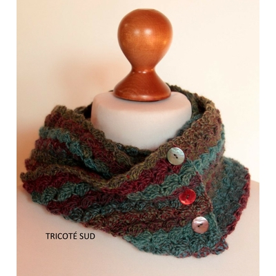 Kit crochet snood Brume