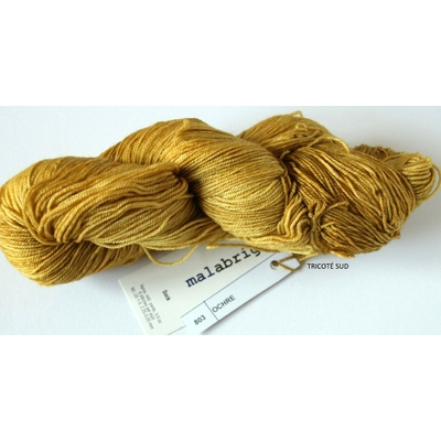 MALABRIGO SOCK OCHRE (1) (Medium)