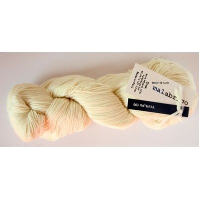 MALABRIGO SOCK NATURAL (1) (Medium)