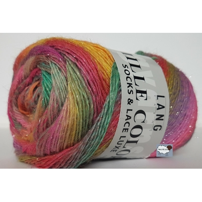 MILLE COLORI SOCKS AND LACE LUXE COLORIS 53 (4) (Large)