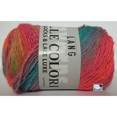 MILLE COLORI SOCKS AND LACE LUXE COLORIS 51 (4) (Large)