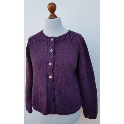 Kit tricot veste Agathe adulte Semilla Melange