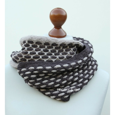 Kit tricot snood Osmose