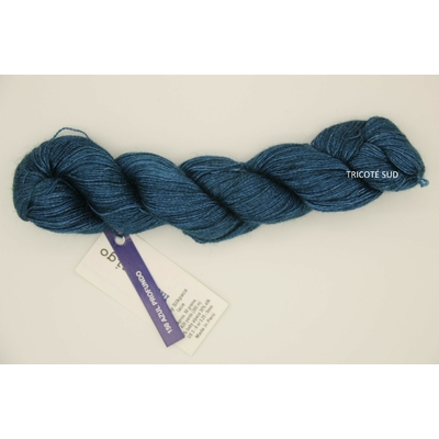 Baby Silkpaca lace coloris Azul Profundo