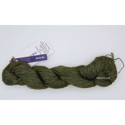 Baby Silkpaca lace coloris Olive