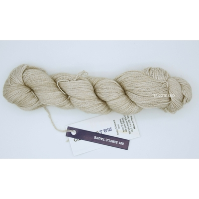 Baby Silkpaca lace coloris Simple Taupe
