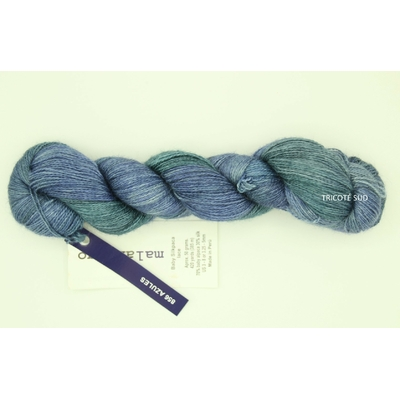 Baby Silkpaca lace coloris Azules