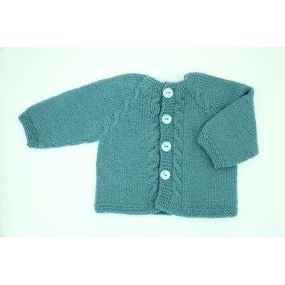Kit tricot veste Castor
