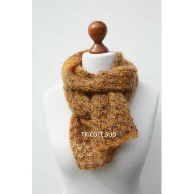 Kit tricot écharpe Iris