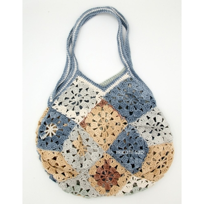 Kit crochet sac Papyrus version Bon Ton d'Adriafil