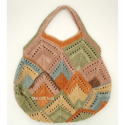 Kit tricot sac Papyrus version Bon Ton d'Adriafil