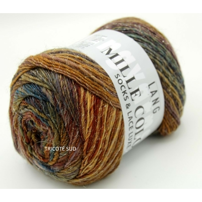 MILLE COLORI SOCKS AND LACE LUXE LANG YARNS COLORIS 26 (1) (Medium)