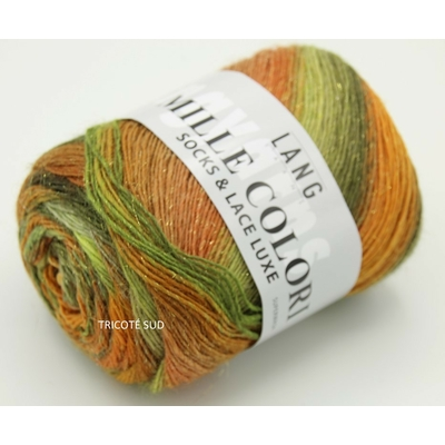 MILLE COLORI SOCKS AND LACE LUXE LANG YARNS COLORIS 59 (2) (Medium)