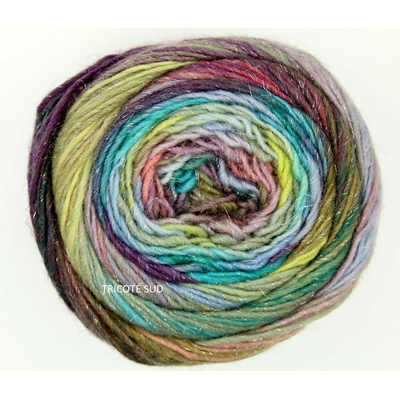 Mille Colori Socks and Lace Luxe coloris 151