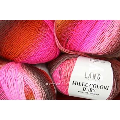MILLE COLORI BABY LANG YARNS COLORIS 85 (2) (Medium)
