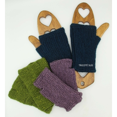 Kit tricot mitaines Frimas