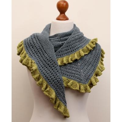Kit tricot châle Calypso