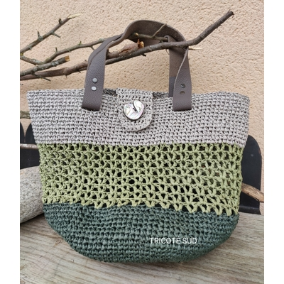 Kit crochet sac Cyclamen
