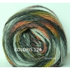MILLE COLORI SOCKS AND LACE LANG YARNS COLORIS 124 (Large)