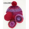 LUCIOLE SNOOD BONNET COLORIS D (10) (Medium)