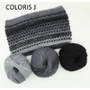 LUCIOLE BONNET ET SNOOD COLORIS J (2) (Medium)