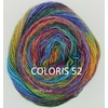 MILLE COLORI SOCKS AND LACE LUXE LANG YARNS COLORIS 52 (2) (Medium)