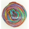 MILLE COLORI SOCKS AND LACE LUXE LANG YARNS COLORIS 56 (2) (Medium)