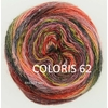 MILLE COLORI SOCKS AND LACE LUXE LANG YARNS COLORIS 62 (2) (Medium)